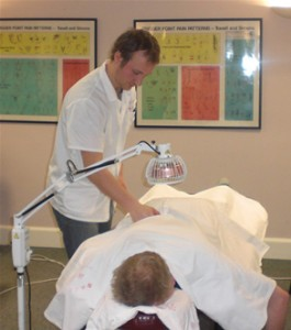 Kevin Meredith Giving Treatment
