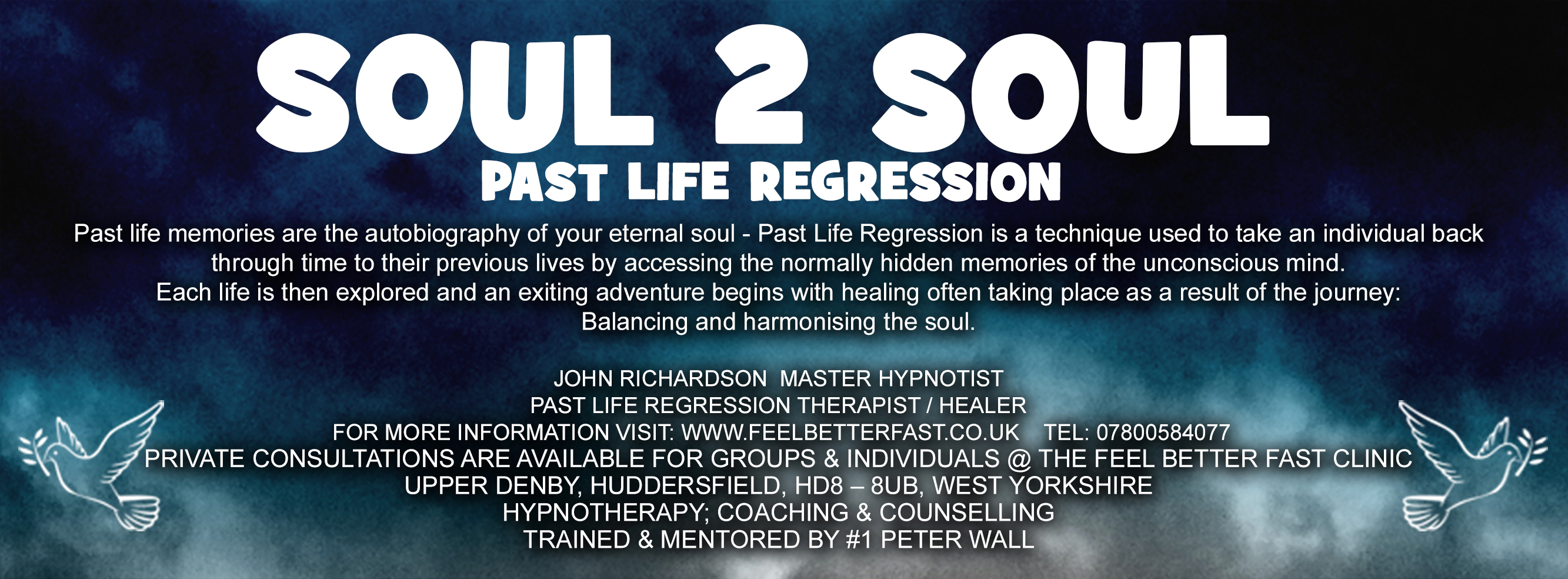 PAST LIFE REGRESSION LEAFLET J. Richardson