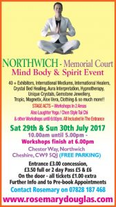 Northwich – 29th /30th July