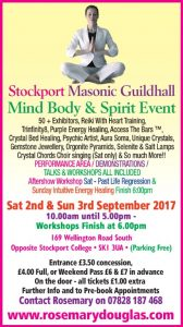 Stockport – 2nd /3rd September