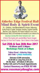 Alderley Edge – 25th / 26th November