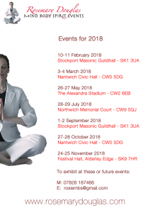 Events For 2018
