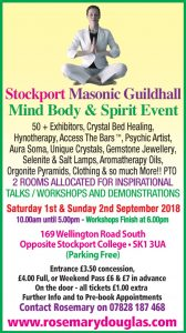 Stockport 1st & 2nd September