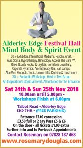 Alderley Edge – 24th & 25th November