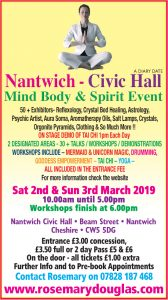 Nantwich 2nd & 3rd March