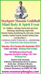 Stockport – 7th & 8th September 2019