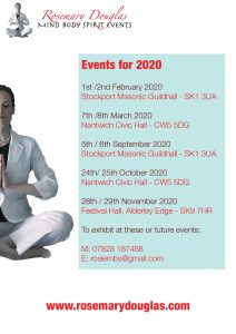 Events Information 2020