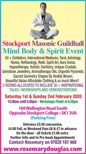 Stockport 1st & 2nd February 2020
