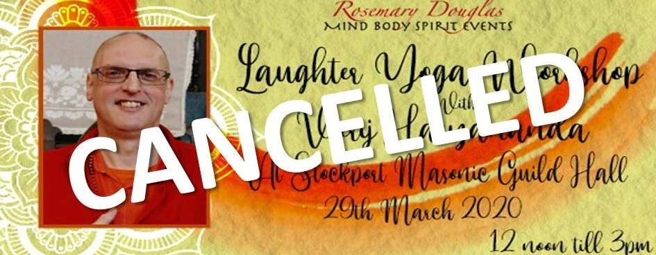 EVENT CANCELLED – Laughter Yoga Workshop with Veerji